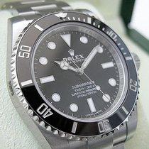 Rolex Submariner No Date 114060 Mens Stainless Steel Ceramic...