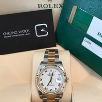 Rolex Datejust White Roman Dial Oyster