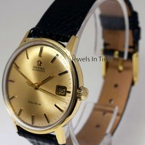 Omega Vintage Geneve 18k Solid Yellow Gold 24J Automatic Mens...