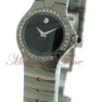 Movado S.E. (Sports Edition), Black Museum Dial, Diamond Bezel...