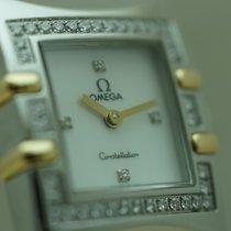 Omega Constellation Quadra Quartz Diamonds St/G