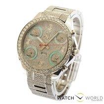 Jacob & Co. Five Time Zone Diamond Bezel & Case -...