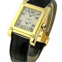 Cartier Tank a Vis Yellow Gold