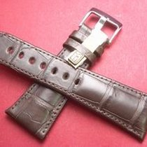 Louisiana Krokodil-Leder-Armband 28mm im Verlauf auf 20mm...