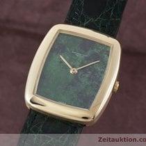 Audemars Piguet Lady 18k Gold Handaufzug Damenuhr Malachit Zb