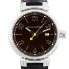 Louis Vuitton Tambour Q111G Large Diamond Mens Watch