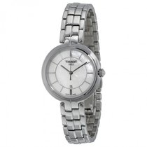 Tissot Flamingo Mother of Pearl Dial Stainless Steel Ladies