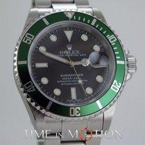 Rolex Submariner Date LV Lunette Verte 16610 T Mark 4 Full Set