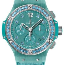 Hublot Big Bang 41 MM Linen Turquoise 341.XL.2770.NR.1237