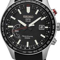 Seiko Sportura GPS Solar World Time SSF007J1 GPS Solar Uhr Mit...