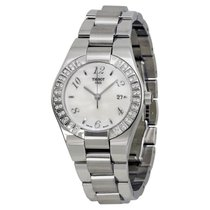 Tissot Glam Mother of Pearl Dial Stainless Steel Ladies Watch...
