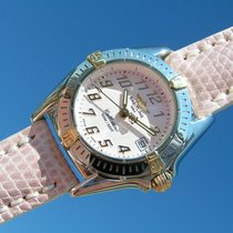 Breitling Callistino B52345 Rosa Pink Dial Steel Gold Esfera...