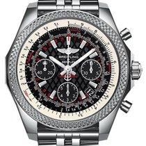Breitling ab061221/bd93/980a Bentley B06 S in Steel with Bezel...