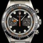 Tudor Stainless Steel Grey Dial Heritage Chronograph B&P...