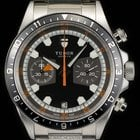 Tudor Stainless Steel Grey Dial Heritage Chronograph B&P...