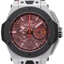 Hublot Big Bang Ferrari Titanium Carbon Limitiert 401.NQ.0123.VR
