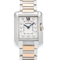 Cartier- Tank Anglaise Kleines Modell, Ref. WT100024
