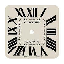 Cartier Santos 100 Large White/Black Roman Numeral Custom Dial