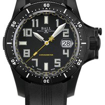 Ball Trainmaster Engineer Hydrocarbon Black Mens Watch