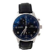 IWC Portoghese Chronograph Dial Black ref. IW371447