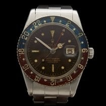 Rolex GMT-Master Bakerlite Pepsi Tropical Dial Stainless Steel...