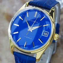 Citizen Parawater Vintage Japanese Manual Gold Plated 1960s...