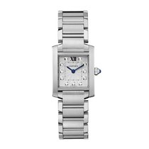 Cartier Tank Francaise Quartz Ladies Watch Ref WE110006