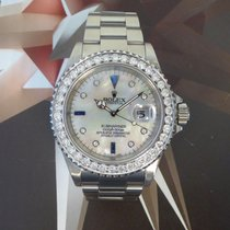 Rolex Submariner 16610, Diamond Dial & 3ct Bezel, Oyster