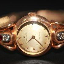 Rolex Vintage Cocktail Ladies Gold Diamond Ruby Watch