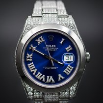 Rolex Datejust II with Diamonds