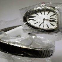 Bulgari NEW  Serpenti Stainless Steel Ladies Watch Box/Papers...