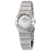 Omega Constellation Mother of Pearl Dial Ladies Watch 12310246...