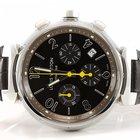 Louis Vuitton Tambour Chronograph Automatik RK 5488 - Edelstahl
