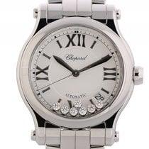 Chopard Happy Sport Stahl Diamond Automatik Armband Stahl 7...