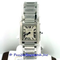 Cartier Tank Francaise Ladies W51008Q3 Pre-Owned