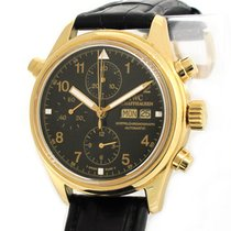 IWC IW3713 18K Gold Doppelchronograph Double Chronograph with...