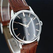 Omega Black Dial Handaufzug Caliber 268 aus 1960 Super Zustand