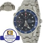 Omega Seamaster Stainless Steel Diver Chronograph Diver 41.5mm...