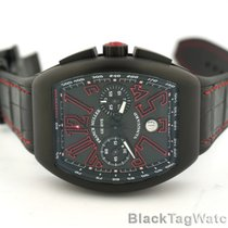 Franck Muller Vanguard Chronograph Black PVD Titanium