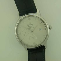 Omega DeVille Prestige Co-Axial Power Reserve steel automatic...