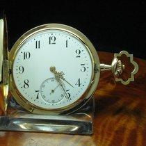 14kt 585 3 Deckel Gold Gelbgold Savonette Sprungdeckel Taschenuhr