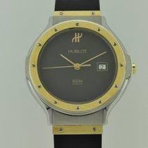 Hublot Classic Medium Size Quartz 18k Gold Lady 1401.2
