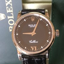 Rolex Cellini 18k White Gold Watch Box Papers