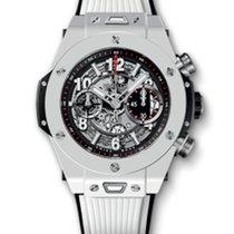 Hublot Big Bang 45mm Unico · White Ceramic Bracelet 411.HX.117...