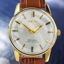 Seiko Diashock Manual Wind 25 Jewels 1960s Japanese Mens Watch...