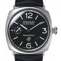 Panerai Radiomir Black Seal Logo 45mm Stainless Steel PAM00380