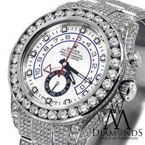 Rolex Men's Diamond Rolex Watch Yacht-master Ii 2 116680...