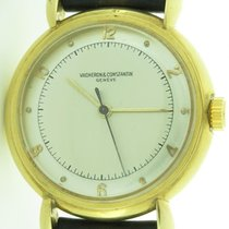 Vacheron Constantin Vintage 18k Gold Fancy Lugs 32mm Mechanica...