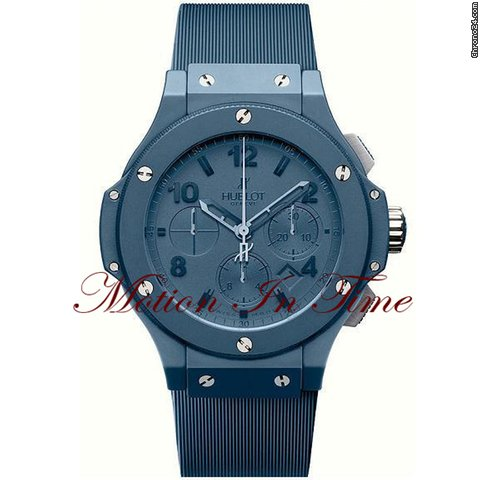 Hublot Big Bang &amp;#34;All Blue&amp;#34; 44.5mm Chronograph Limited 500 Pieces