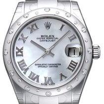 Rolex Datejust 31 Ref. 178344 Zifferblatt Perlmutt Römisch